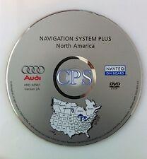 2004 2005 AUDI A4 S4 AVANT QUATTRO NAVIGATION SYSTEM PLUS MAP CD DVD VERSION 2A