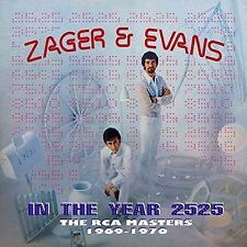 In The Year 2525: Rca Masters 1969-1970 - Zager & Evans (2016, CD NIEUW)