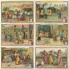 Chromo Liebig Sang. 659 ITA Cina I (scene di vita) ANNO 1901