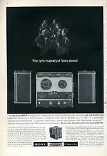 1965 Sony Superscope 500- A Reel to Reel  PRINT AD