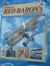 BUILD THE RED BARON'S FIGHTER PLANE FOKKER DR1  HACHETTE  ISSUE 7 NEW SEALED
