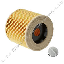 Karcher A2604 A2654 Vacuum Cleaner Hoover Wet & Dry Cartridge Filter Genuine