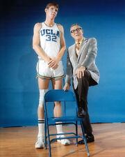 UCLA Coach JOHN WOODEN & BILL WALTON Glossy 8x10 Photo Basketball Print Poster