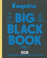 Esquire Big Black Book Magazine 3 UK,Wes Anderson,Margaret Howell,Michael Nyman