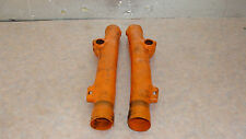 1980 KTM MX 250 FORK GUARD BOOTS (2) 1 PAIR