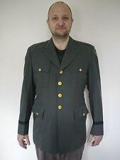 Vtg 50s Army Military Officers Dress Uniform Jacket Coat Hong Kong British Made