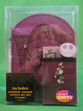 Claire's Exclusive Disney Nightmare Before Christmas Stationary Set NEW