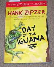Day of the Iguana (Book 3) by Henry Winkler and Lin Oliver (2003, Paperback)