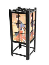 Japanese Geisha Indirect Light Wood & Paper TATAMI Shoji Lantern Oriental Lamp