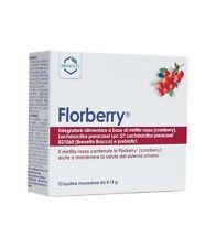 FLORBERRY Integratore Alimentare per Benessere del Sistema Urinario 10 Bustine