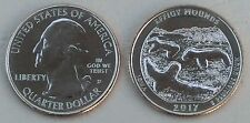 USA Quarter America the Beautiful - Effigy Mounds D 2017 unz.