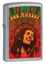 Zippo 24991, Bob Marley, Street Chrome Finish Lighter, Full Size