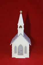 HO Scale Bachman  Plasticville USA Church with Bell  Glued
