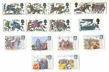 Great Britain Battle of Hastings set(phos) + Alderney mnh-Military(2016)