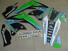 FLU DESIGNS PTS2  KAWASAKI  GRAPHICS KLX450  KLX450R  KLX450F