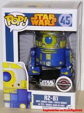 FUNKO 2015 POP STAR WARS R2-B1 #45 DROID Game Stop Exclusive MIMB In Stock