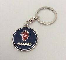 SAAB Metallo cromato Stile Portachiavi Portachiavi Keychain elegante 93 95 9-3 9-5 900