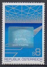 Österreich Austria 1988 ** Mi.1936 Hologramm Würfel Cube Export