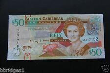 Eastern East Caribbean States $50 Dollar Banknote P-54 UNC