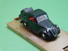 r23 Fiat 500 topolino A 1a serie Metano HP 13 1936 Brumm 1:43 serie oro revival