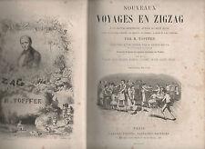 R.TOPFFER.Nouveaux Voyages en Zigzag.Grande Chartreuse.Mont Blanc.1864