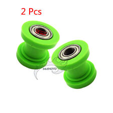 2x Green Chain Roller 10mm For CRF XR 50 KLX110 Thumpstar 50cc-250cc Motorcycle