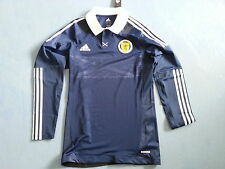 Maillot Ecosse Scotland L/S adidas player Techfit issue Authentic size XL