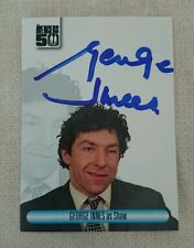 The avengers 50th anniversaire autograph card george innes