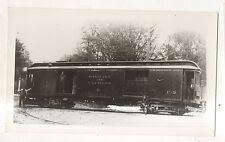 BUFFALO AND LAKE ERIE TRACTION Trolley Baggage Car NY New York Photograph