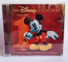 WALT DISNEY - THE DISNEY COLLECTION VOLUME ONE 1 CD SOUNDTRACK