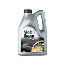 Mobil Super 2000 X1 10W-40 Semi Synthetic Engine Oil 5 Litre
