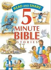Read and Share 5 Minute Bible Stories (2015, Hardcover)