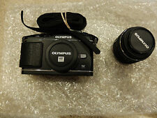 Olympus PEN E-P3 12.3 MP Digital Camera - Black (Kit w/ 14-42mm Lens)