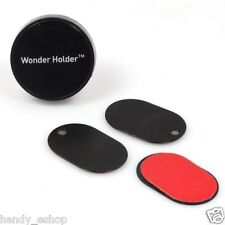 Genuine wonder support magnétique téléphone sat-nav holder stick mount quick fit