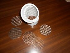 "20 STAINLESS STEEL HVAC HIGH EFFICIENCY FURNACE 3"" PVC VENT BIRD SCREEN"
