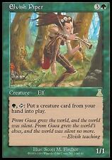 Pifferaio Elfico - Elvish Piper MTG MAGIC UD Japanese EXC-NM