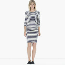 JAMES PERSE CREW NECK STRIPED DRESS 1 UK 8/10