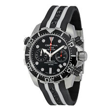 Certina Mens DS Action Diver Black Automatic Swiss Made Watch C013.427.17.051.00