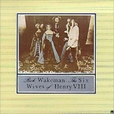 RICK WAKEMAN : THE SIX WIVES OF HENRY VIII    (CD) Sealed