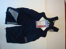 The Children's Place Navy Blue Baby Ski Bib Snow Pants 6-9m $40rrp Off NWT New