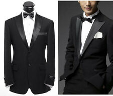 2015 Mens Wedding Suit Bridal Groom Tuxedos Formal Occasion Suit Custom Made