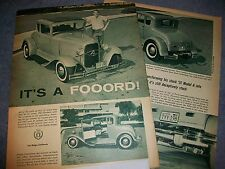 "1931 Ford Model A 5-Window Vintage Hot Rod Article ""It's A Fooord"""