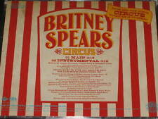 BRITNEY SPEARS - Circus - 2 Track DJ PROMO CD! w/ Instrumental! RARE! OOP!
