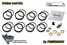 Bmw K1200 Rs 96-00 Brembo Freno Delantero Caliper Sello reparación Kit Set 1996 1997 1998