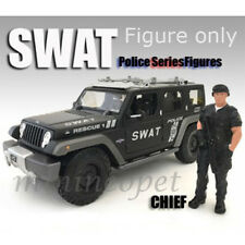 AMERICAN DIORAMA AD-77418 POLICE SWAT TEAM FIGURE FOR 1/18 MODEL CAR CHIEF