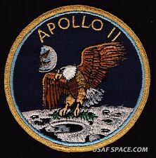 SCARCE APOLLO 11  NASA - GRUMMAN VINTAGE ORIGINAL NASA CLOTH BACK SPACE PATCH