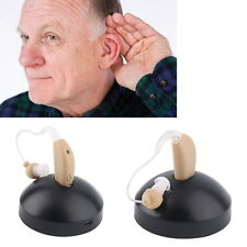 New Rechargeable Hearing Aids Personal Sound Voice Amplifier Behind The Ear FT