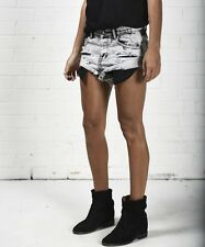 NEW ONE by One Teaspoon Bandits - Low Waist Cutoff Shorts in Harley Size 30