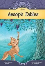 Aesop's Fables (Calico Illustrated Classics)-ExLibrary