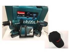 Makita Akku-Set DLX2020Y DHP453 + DTD146, 2xMakita Li-Ion Akku 18V; 3,0Ah + Cap